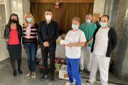 Beszámoló a Szent János Kórház Covid Osztályaira szervezett gyűjtésről